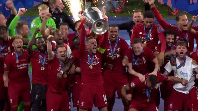 Finale, Tottenham – Liverpool (0-2): Liverpool décroche sa 6ème Ligue des champions! [RTS]