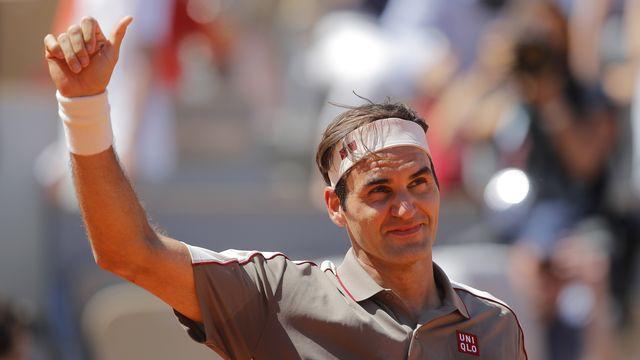 Federer n'a toujours pas lâché le moindre set depuis le début de la quinzaine. [Michel Euler - Keystone]