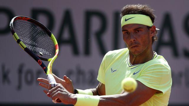 Nadal continue sa tranquille progression dans le tableau masculin. [Yoan Valat - Keystone]