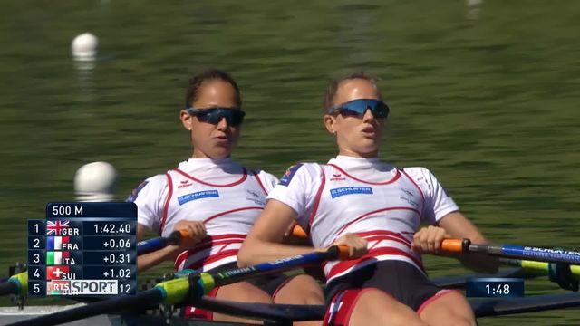 viron, Championnats d'Europe aux Rotsee : 3 médailles suisses [RTS]
