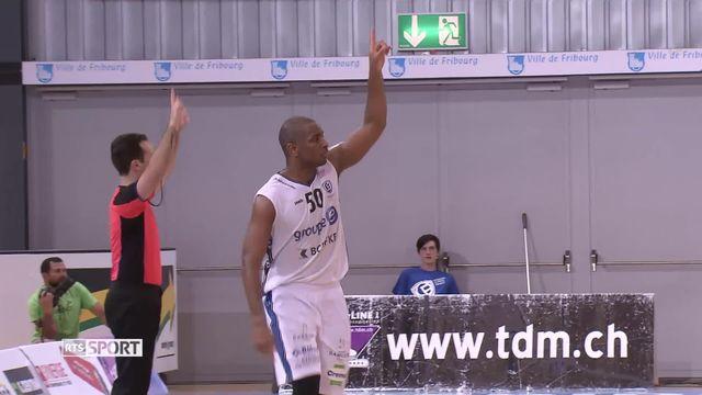 Basket, Finales: Première rencontre de Fribourg Olympique - Lion de Genève (83-72) [RTS]