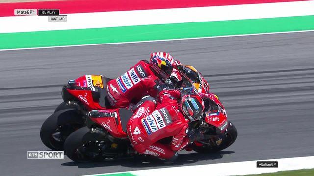 Moto GP, Grand Prix d'Italie: victoire de Danilo Petrucci (ITA) [RTS]