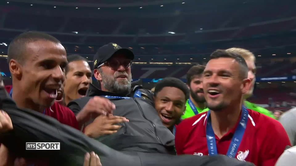 Football, Ligue des champions: Tottenham - Liverpool (0-2) [RTS]