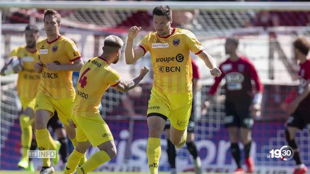 Football: Neuchâtel Xamax reste en Super League en battant Aarau aux tirs au but [RTS]