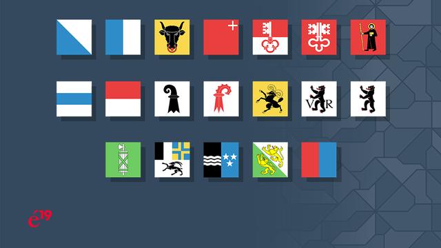 La course aux Etats s'annonce âpre à Zurich, en Argovie et à Schwyz. [RTS]