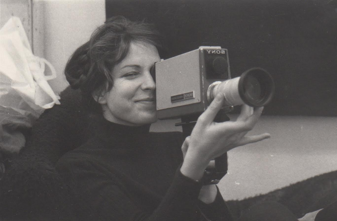 Carole Roussopoulos with camera
