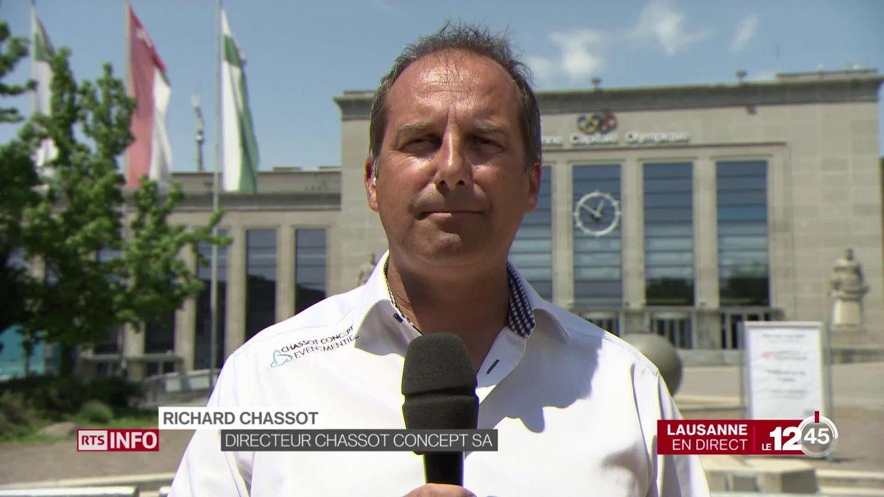 """Richard Chassot: """"La routine dans l'événementiel est le pire ennemi, il faut surprendre."""" [RTS]"""