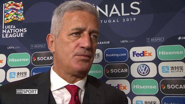 1-2, Portugal - Suisse 3-1: le sélectionneur Suisse, Vladimir Petkovic, à l'interview [RTS]