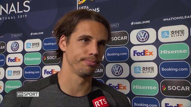 1-2, Portugal - Suisse 3-1: la déception de Yann Sommer au micro de Christophe Cerf [RTS]