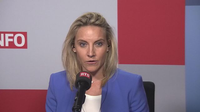 L'UDC en perte de vitesse selon le baromètre SSR: interview de Céline Amaudruz [RTS]