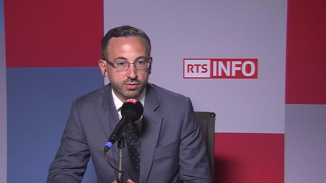 Le centre de détention administrative de Granges (VS) pointé du doigt: interview de Frédéric Favre [RTS]