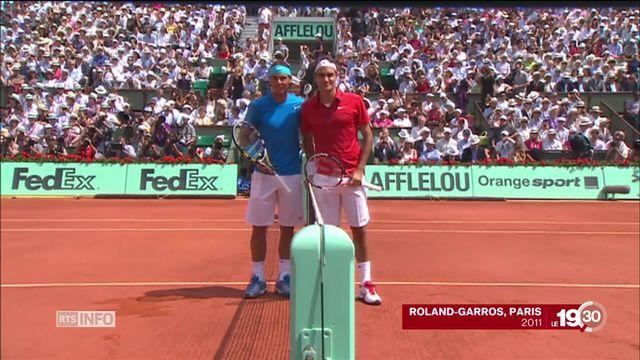 Roland-Garros se prépare déjà à la demi-finale rêvée entre Roger Federer et Rafael Nadal [RTS]