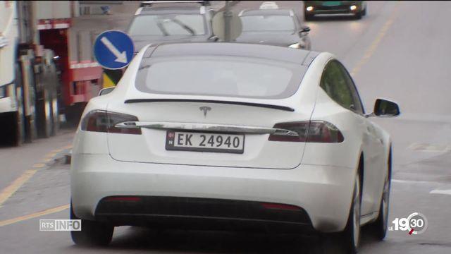 Financé par l'impôt, l'encouragement à la voiture électrique fait de la Norvège le champion européen de l'électromobilité [RTS]