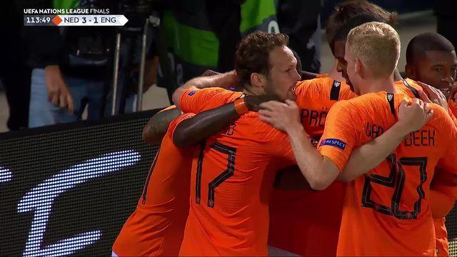 1-2, Pays-Bas – Angleterre (3-1): les meilleurs moments du match [RTS]