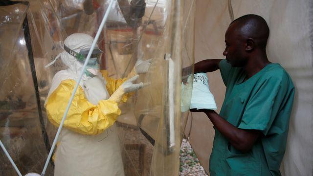 Un centre de traitement pour les victimes d'Ebola à Beni, en RDC [Baz Ratner - Reuters]