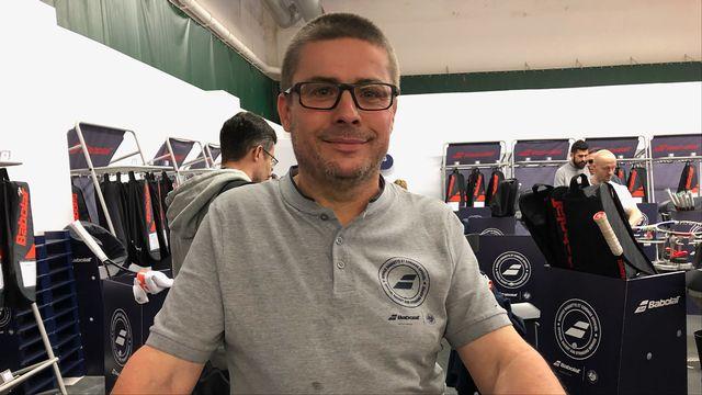 Xavier Bremard travaille depuis 26 ans au service des athlètes. [F.Galaud - RTS]