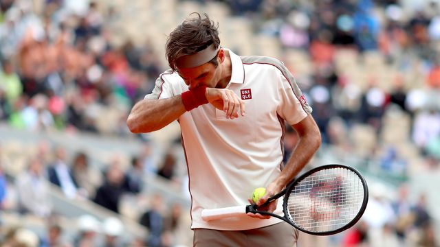 Roger Federer n'a rien pu faire face à la maîtrise de Nadal. [SRDJAN SUKI - EPA]