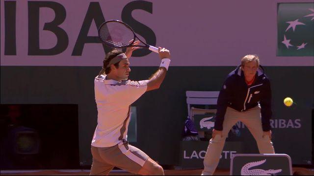 Le point du match: l'amortie injouable de Federer [RTS]