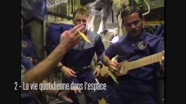 Claudie Haigneré, astronaute - La vie quotidienne dans l'espace [RTS]