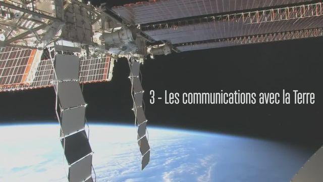Claudie Haigneré, astronaute - Les communications avec la Terre [RTS]