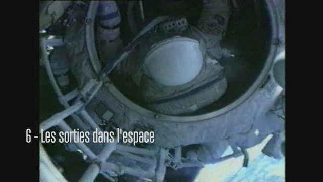 Claudie Haigneré, astronaute - Les sorties dans l'espace [RTS]