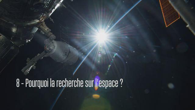 Claudie Haigneré, astronaute - Pourquoi la recherche sur l'espace? [RTS]