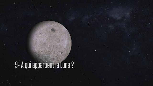 Claudie Haigneré, astronaute - A qui appartient la Lune? [RTS]