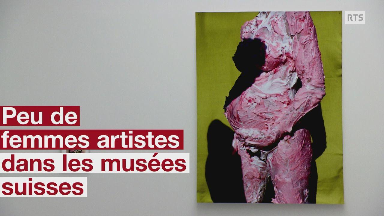 Peu de femmes dans les musees suisses [RTS]