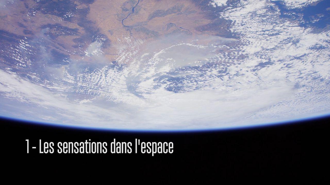 Les sensations dans l'espace. [RTS]