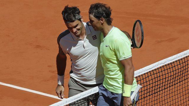 Sixième match et sixième défaite pour Federer face à Nadal à Roland-Garros. [Pavel Golovkin - AP]