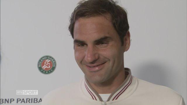 Roland-Garros: Federer à l'interview après sa défaite en demi-finales contre Nadal [RTS]