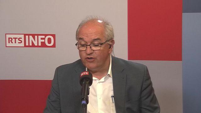 La FIFA veut devenir un ONG: interview de Nicolas Levrat [RTS]