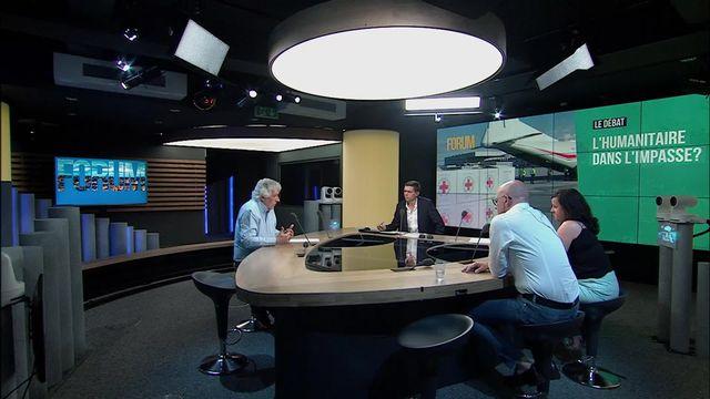 Le débat - L'humanitaire dans l'impasse? Débat entre Yves Daccord, Nago Humbert et Valérie Gorin [RTS]