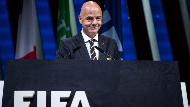 La FIFA de Gianni Infantino souhaite changer de statut. [Christophe  Petit Tesson - Keystone]