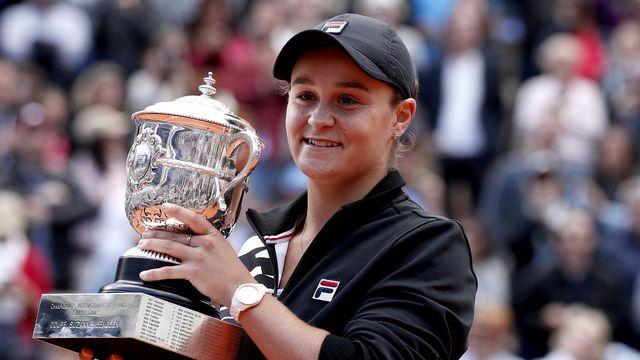 Ashleigh Barty s'est imposé en finale de Roland-Garros. [Yoan Valat - EPA/Keystone]