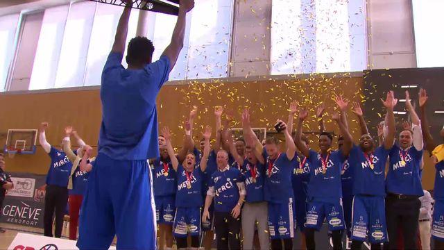 Finale messieurs, 3e match: Genève - Fribourg (77-79) les Fribourgeois remportent le titre [RTS]