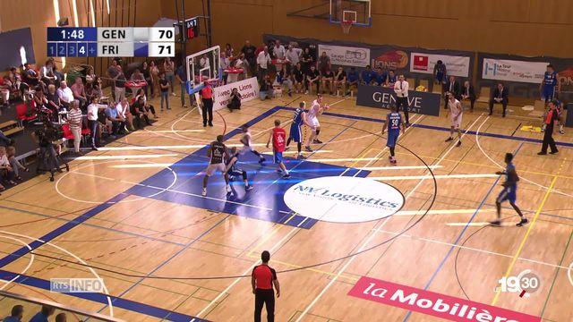 Fribourg Olympic est champion de Suisse de basketball pour la 18e fois de son histoire [RTS]