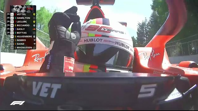 GP du Canada (#7), Q3: Sebastian Vettel (ALL) s'adjuge la pôle position [RTS]