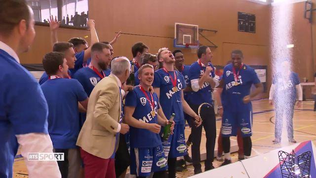 Basketball, Championnat de Suisse: Fribourg Olympic soulève son 18e trophée [RTS]