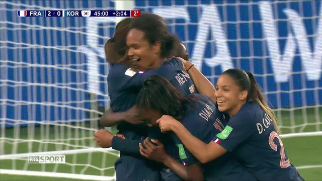 Football, Coupe du monde: Le match d'ouverture a souri aux Bleues [RTS]