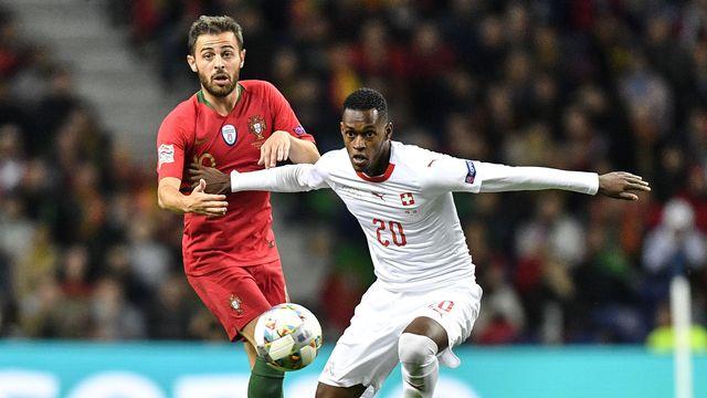 Fernandes était entré à la 71e minute mercredi contre le Portugal. [Keystone]