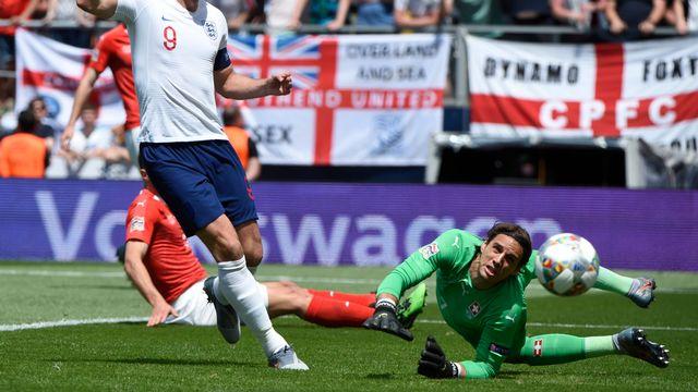 Sommer a sorti le grand jeu dimanche contre les Anglais. [Miguel Riopa - AFP]