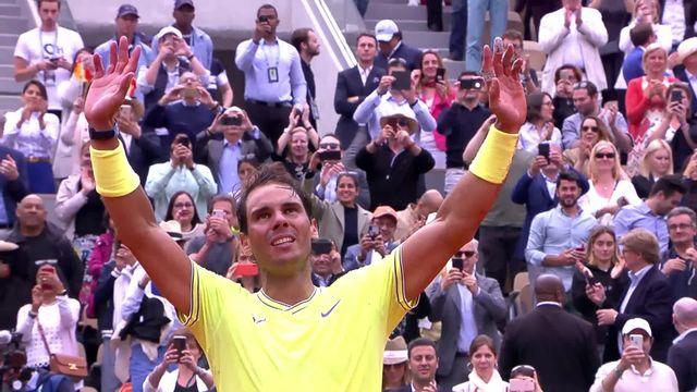 Finale, D. Thiem (AUT) - R. Nadal (ESP) 3-6, 7-5, 1-6, 1-6: victoire écrasante de Nadal (ESP) face à Thiem (AUT) [RTS]