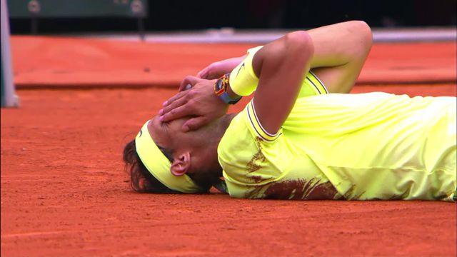 Finale, D. Thiem (AUT) - R. Nadal (ESP) 3-6, 7-5, 1-6, 1-6: les meilleurs points du 12e sacre à Roland-Garros du Majorquin [RTS]