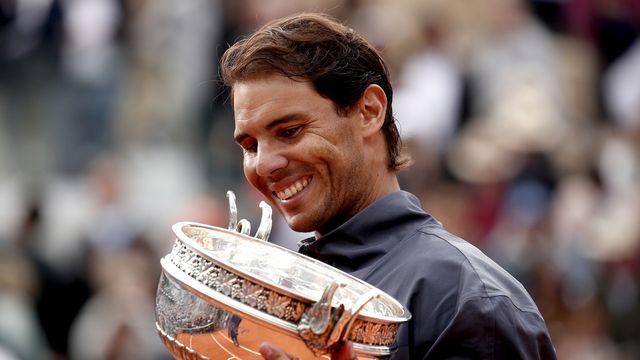 Rafael Nadal reste invaincu en finale à Roland Garros. [Yoan Valat - Keystone]
