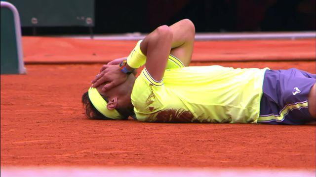 Tennis: le 12e sacre de Nadal à Roland-Garros [RTS]