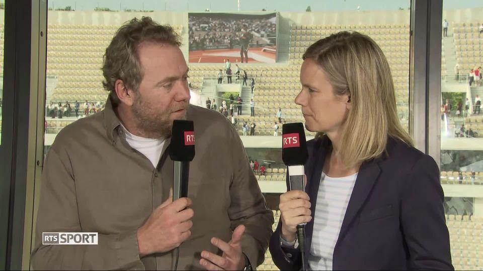 Tennis: la réaction de Marc Rosset [RTS]
