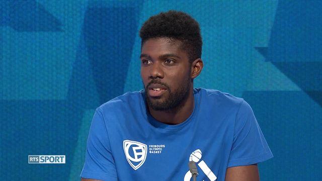 Basketball: retour sur le titre de Fribourg Olympic avec Babacar Touré [RTS]