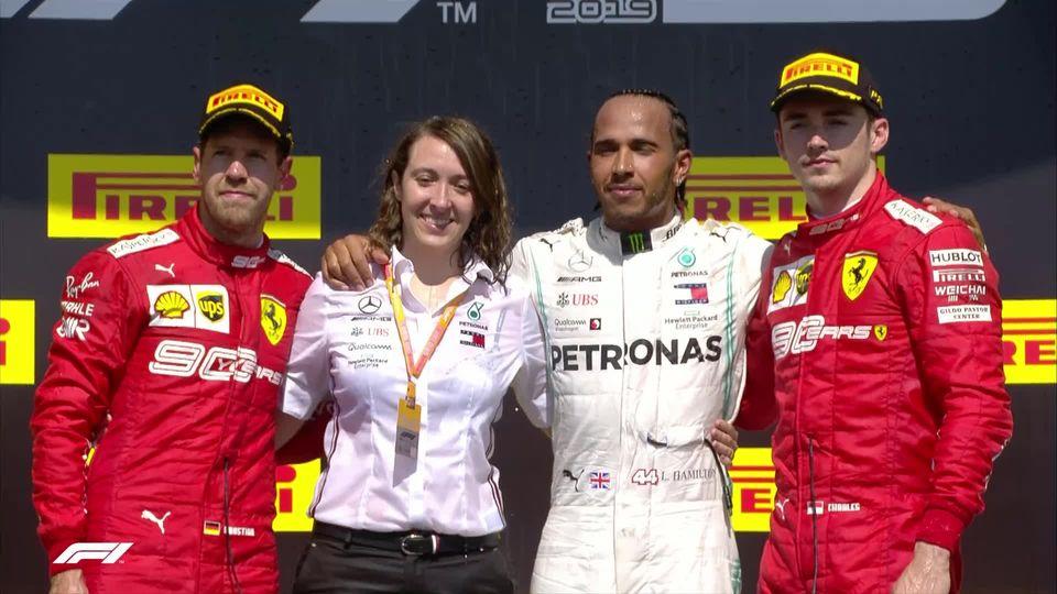 GP du Canada (#7): Lewis Hamilton (GBR) remporte sa 5e course de la saison [RTS]