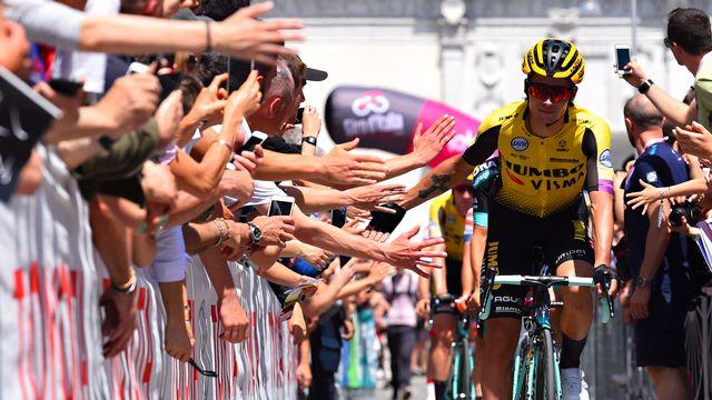 Prmioz Roglic vient de terminer au troisième rang du Giro. [Dario Belingheri - AFP]
